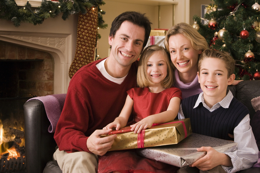 karácsonyi család