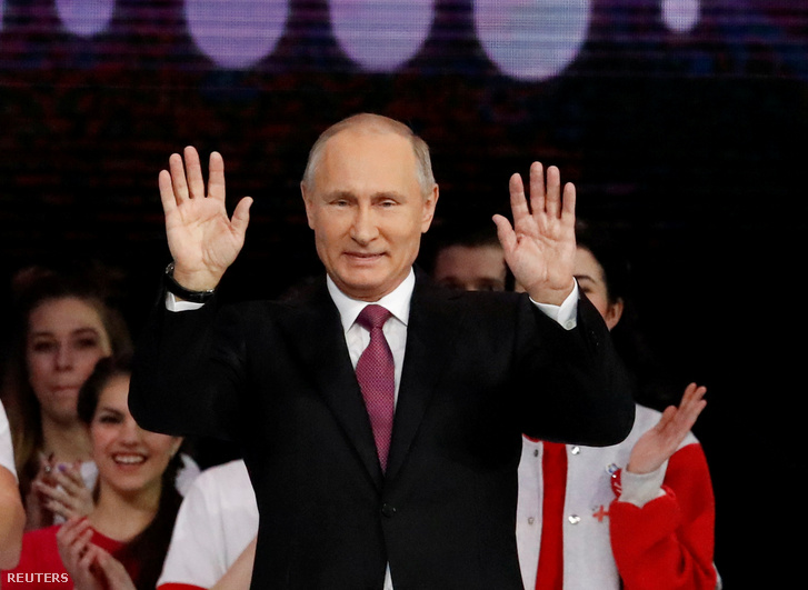 Vlagyimir Putyin orosz elnök