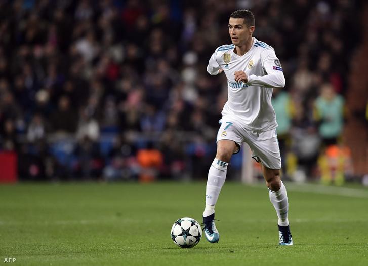Cristiano Ronaldo a Real Madridban