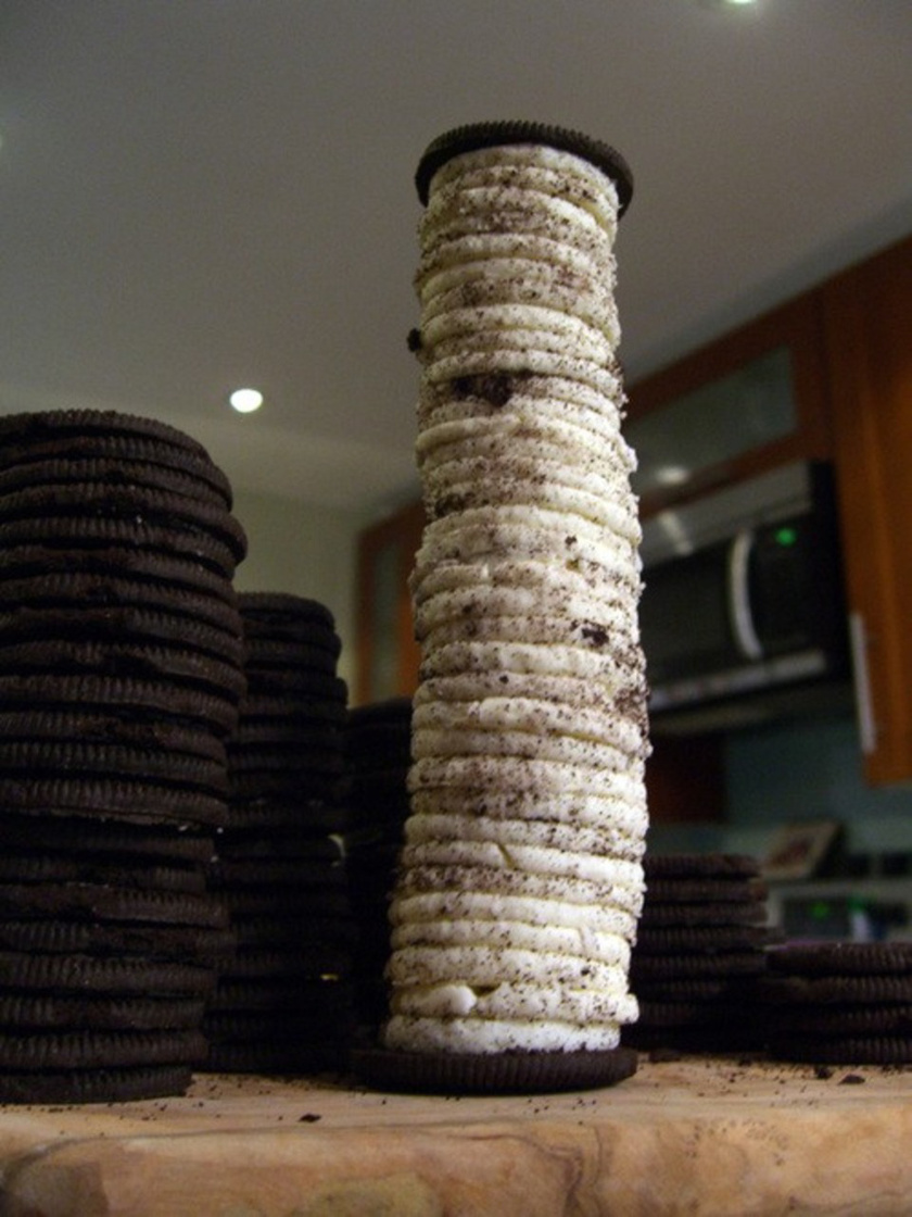 Ilyen az, ha valaki az Oreo-keksznek inkább csak a krémjét szereti. Elkészítette a saját verzióját.
