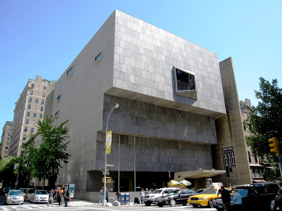 Brauer Marcell: Whitney Museum of American Art, New York, 1966