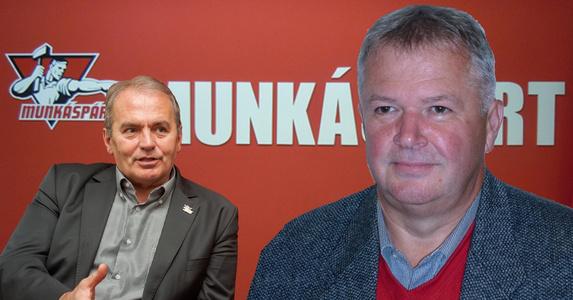 """Pálmai Ferenc (j) a Munkáspárt jelöltje: """"Szavazzanak a Munkáspártra, amely friss, új erőt hoz a politikába!"""""""