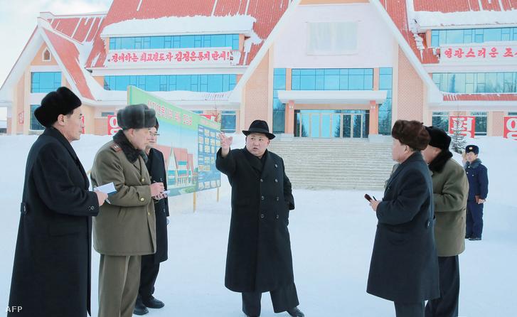 Egy új állomást valahol, valamikor Rjanggang tartományban