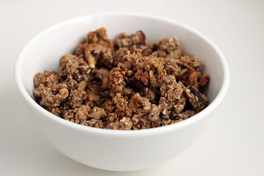 Gluténmentes karácsonyi granola
