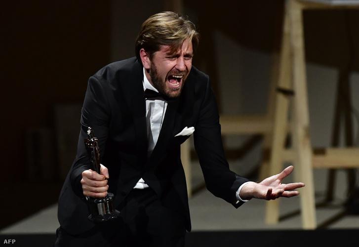 Ruben Östlund eléggé örült a díjának