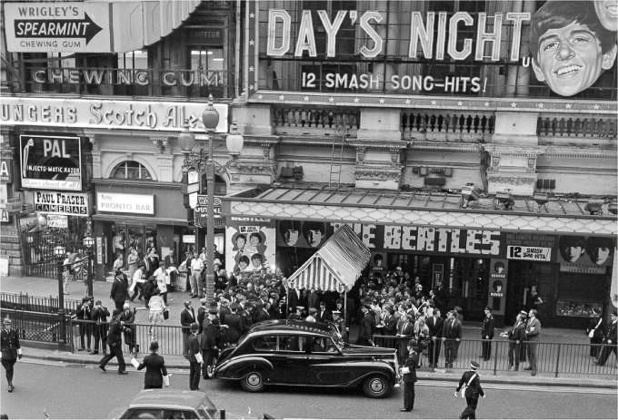 Egy részlet a Hard Day's Night című filmből