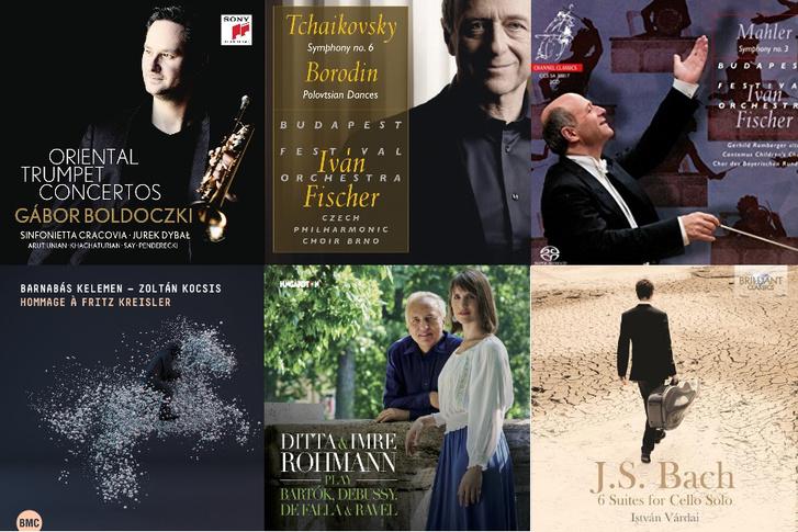 2017 legjobb magyar klasszikus zenei hanglemezei a Gramofon szerint