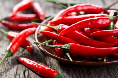 piros csipos chili paprika
