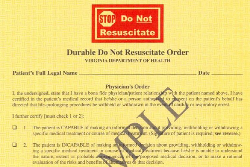 Ez az a hivatalos nyomtatvány, amin rendelkezhetnek a betegek az akaratukról.