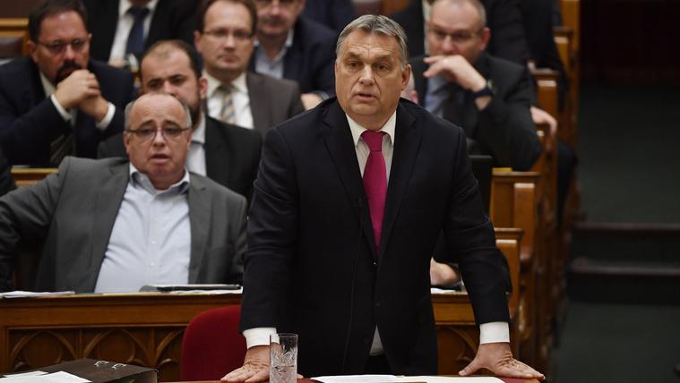 Orbán Viktor élete legbátrabb válaszát adta a parlamentben