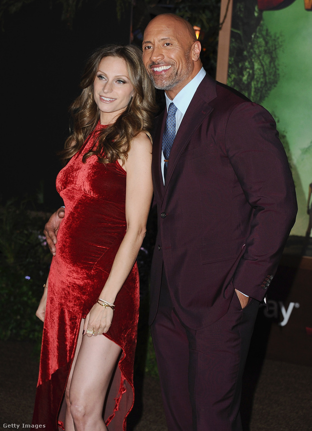 Dwayne Johnson Lauren Hashian (4)
