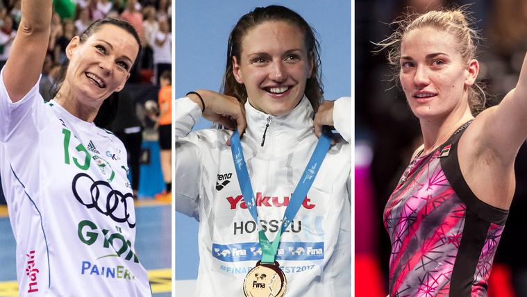 Babos, Hosszú vagy Görbicz lesz az év női sportolója