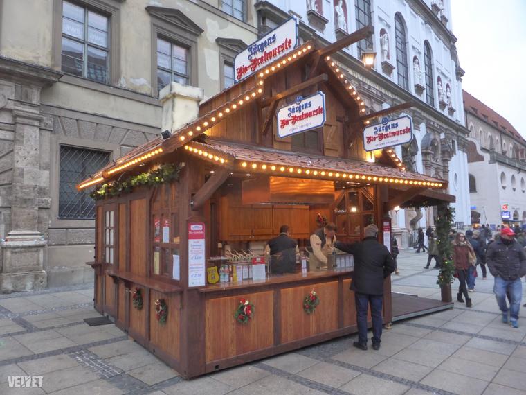 Szóval Müncheben az sem probléma, ha valaki biokolbásszal szeretné várni a karácsonyt.