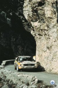 Audi Quattro RallyMC (Hannu Mikkola) – 1985