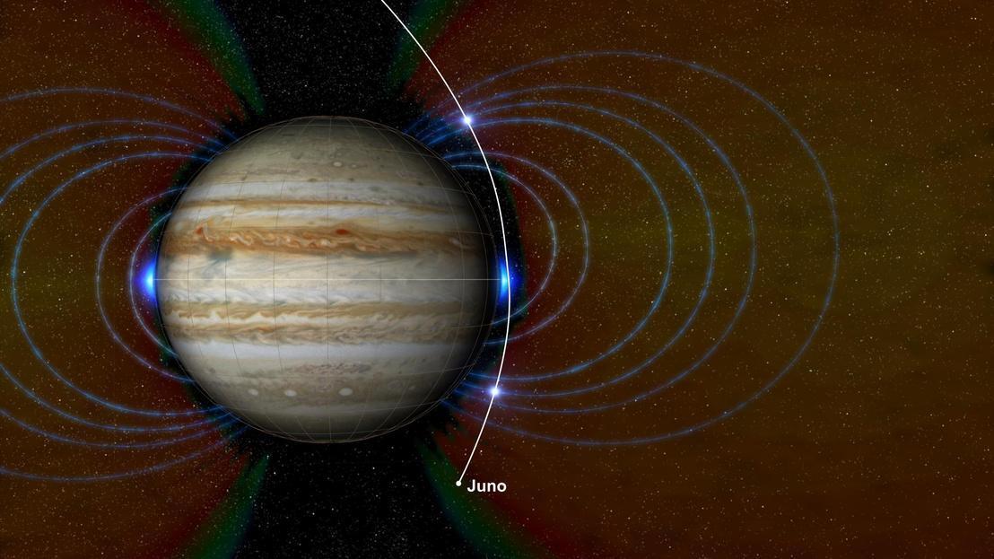 A Juno által fölfedezett két új sugárzási zóna