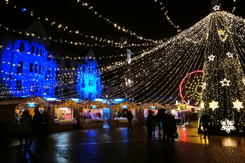 A nagyváradi karácsonyi vásár