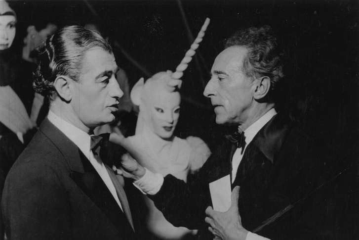 Heinz Rosen, Jean Cocteau és az unikornis az 1953-mas premier előtt