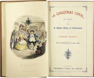 Karácsonyi ének - A Christmas Carol (1843) első kiadás