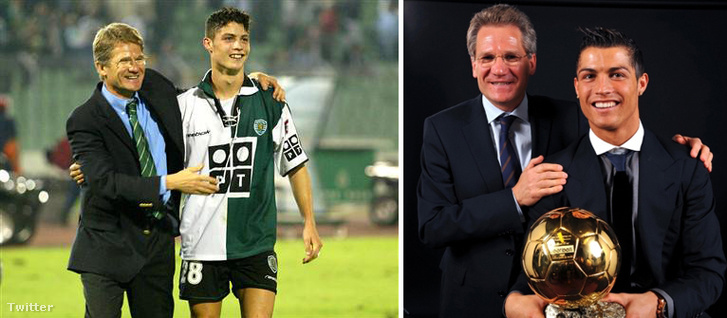 Bölöni állította először felnőtt csapatba Christiano Ronaldót és ott volt, amikor a játékos átvette az ötödik aranylabdáját