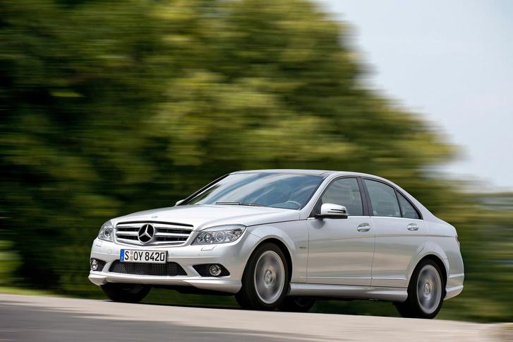 Egyike a valós használatban is tiszta autóknak: Mercedes C250 D