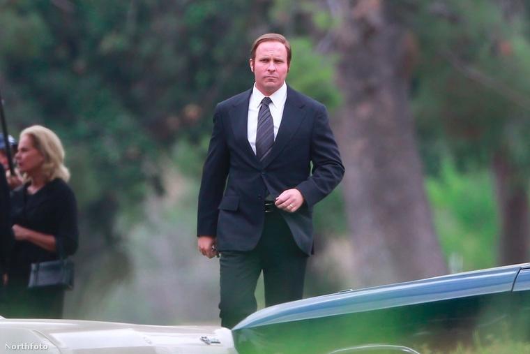 Ez a kép október 3-án készült Christian Bale-ről, és itt éppen a Backseat című filmet forgatja, amiben az USA egykori alelnökét, Dick Cheney-t alakítja.