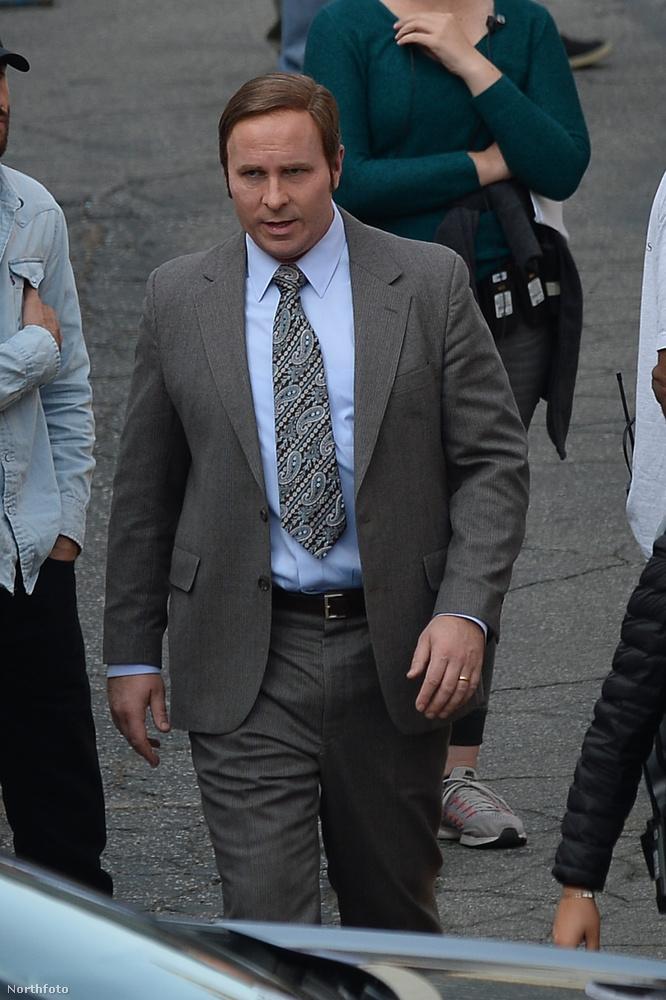 Na erre a fiatal Dick Cheney-re azért már jobban hasonlít Christian Bale a forgatáson, nem?