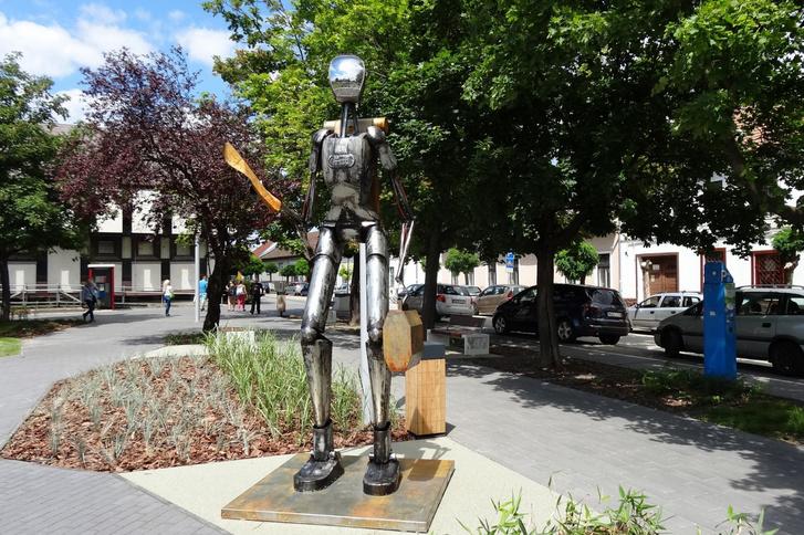 Az eltévedt űrhajós, Szentendre