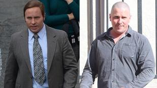 Christian Bale a munkában hajas, privátban kopasz