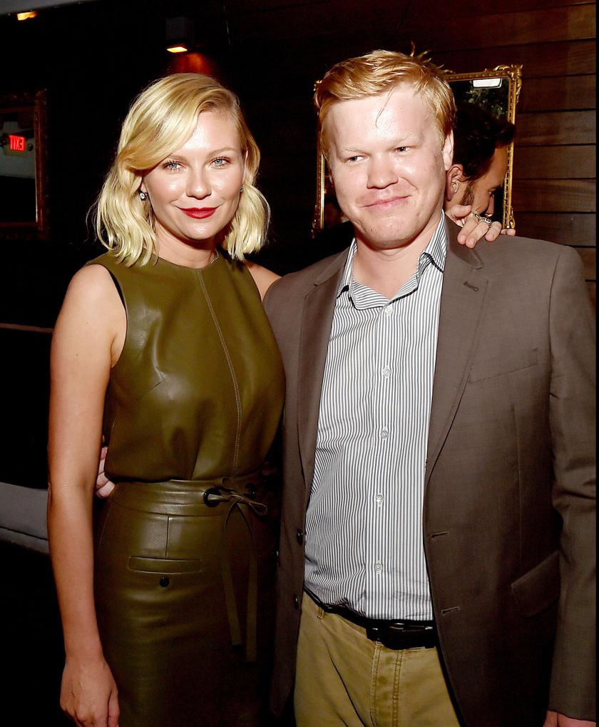 Kirsten Dunst és vőlegénye, Jesse Plemons.