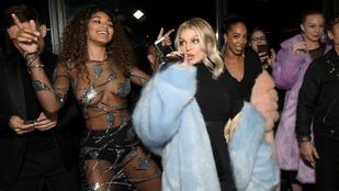 Mihalik Enikő félpucér fotójának fesztiválján Fergie arcába is melleket toltak
