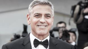 George Clooney fejenként 1 millió dollárt adott a legjobb barátainak