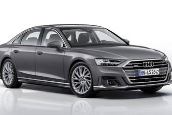 Ilyen a sportos A8 az Audi szerint