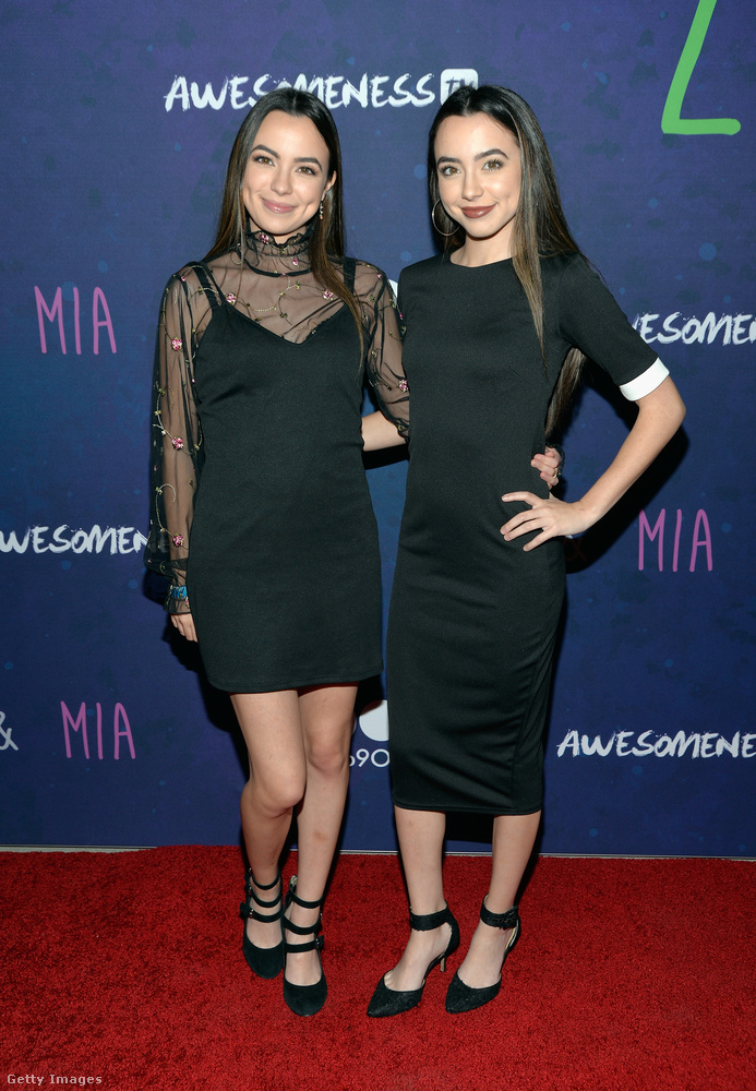 Az olyan instacelebek is feketében gáláztak idén, mint Vanessa és Veronica Merrel