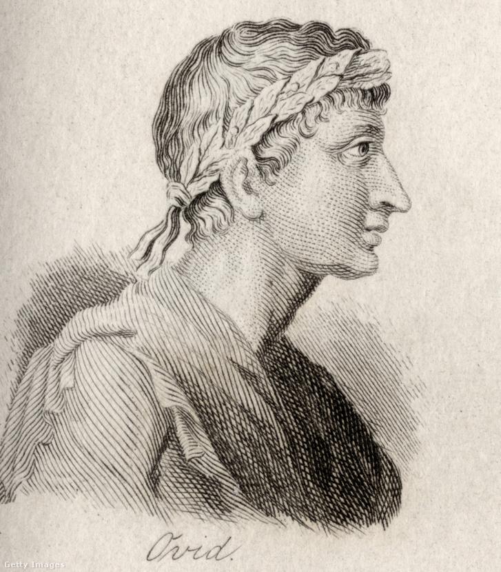 Ovidiust ábrázoló metszet