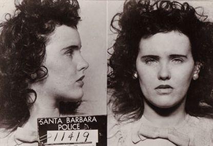 Black Dahlia Mugshot