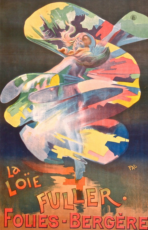 Jean de Paleologue plakátja Loïe Fullerról