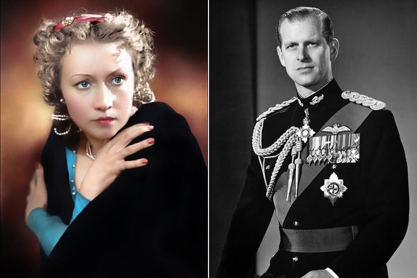 Galina Ulanova és Fülöp herceg.