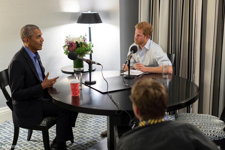 Barack Obama és Harry herceg