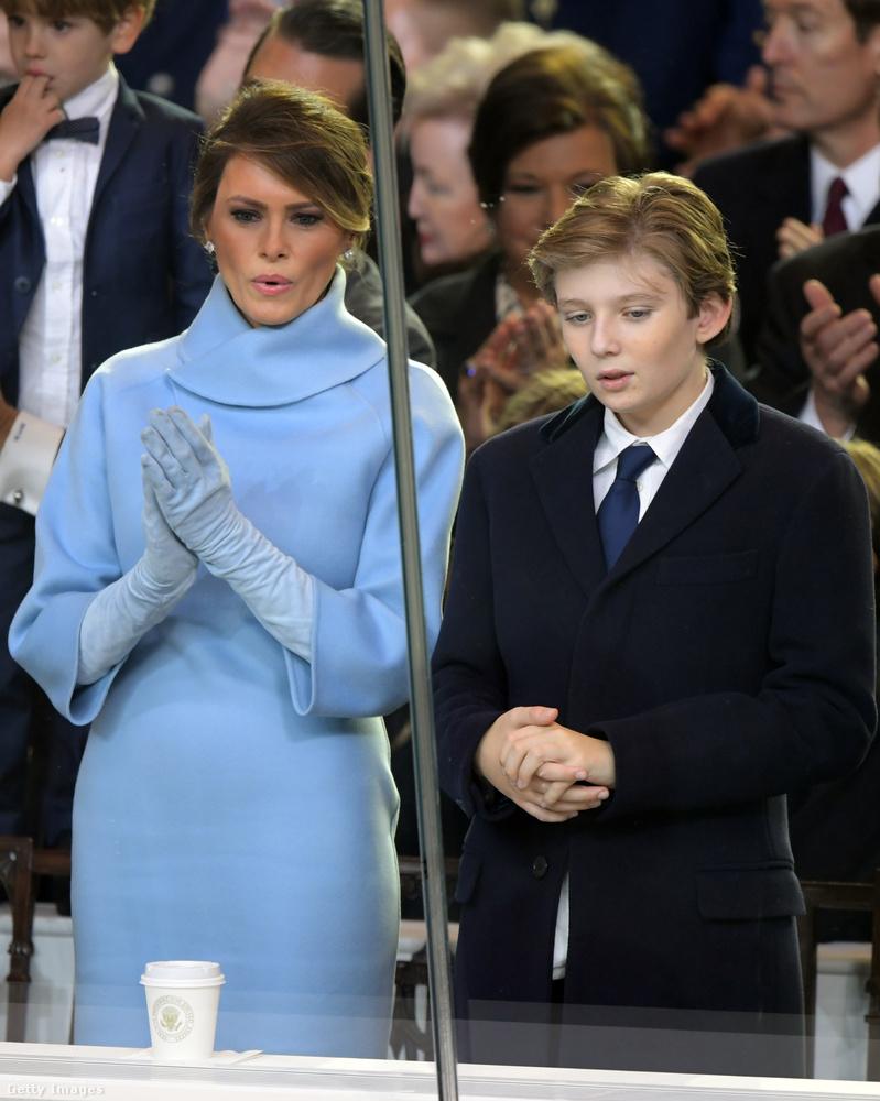 Jackie Kennedynek öltözött az elnöki beiktatáson.