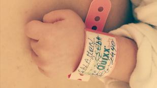 Egy erdélyi nő Zsédának keresztelte újszülött kislányát