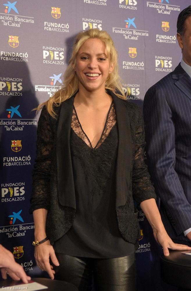 Shakira viszont pont azért okozott nekünk meglepetést, mert