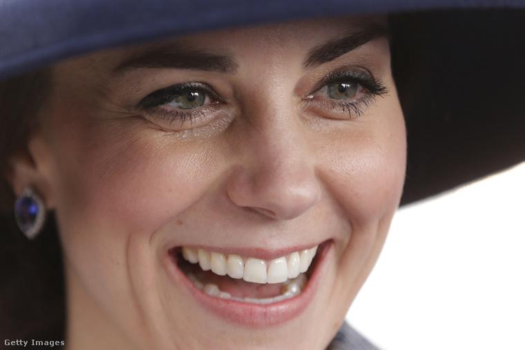 Katalin hercegnéről olyan sokat írunk, hogy ezúttal megkíméljük önöket egy extra kattintástól, és egyből közelről nézzük.Ez a fotó márciusban készült róla, és igazából mindig is azt hittük, hogy ennél jóval több sminket visel