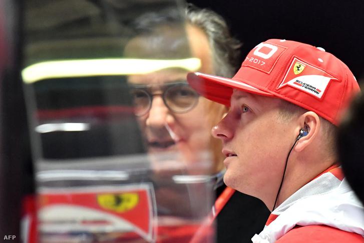 Sergio Marchionne és Kimi Räikkönen