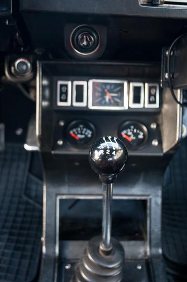 Drága kincs az ötfokozatú, rövidebb áttételű Gordini váltó
