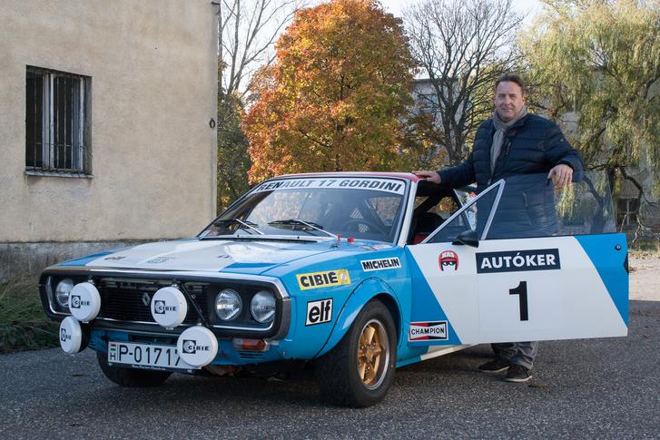 Pásztor Tamás számára az első autó meghatározó élménye miatt különleges az R17