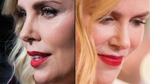 El se tudjuk képzelni, mennyi festéket kennek a híres nők arcára igazából