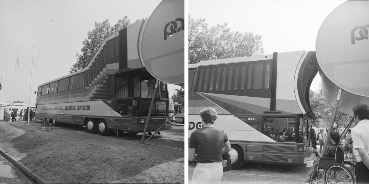 1982-ben a Budapesti Nemzetközi Vásáron mutatták be az Ikarus 692 prototípust, amelyet a PALT (Passenger and Luggage Together azaz Utasok és Csomagok Együtt) rendszer szerint építettek. MALÉV kérésére az Autóipari Kutató és Fejlesztő Intézet (AUTOKUT) a Csepel Autógyárral és az Ikarussal közösen dolgozta ki a PALT rendszert. A 173 utas csomagját a busz aljában helyezték el. Bár papíron jól mutatott a koncepció, a valóság keresztülhúzta a számításokat. A képeken látható Ikarus 692.01 prototípus 17,72 tonna tömegű volt, emellett 2,86 méteres szélessége és 4,14 méteres magassága miatt csak külön engedéllyel közlekedhetett volna az utcán. Később készült még két Ikarus-PALT, de mivel az útlevél-ellenőrzés, vámolás és más repülőtéri rendszerek sem tudtak volna megbirkózni a szerkezettel, végül felhagytak a meddő próbálkozással.