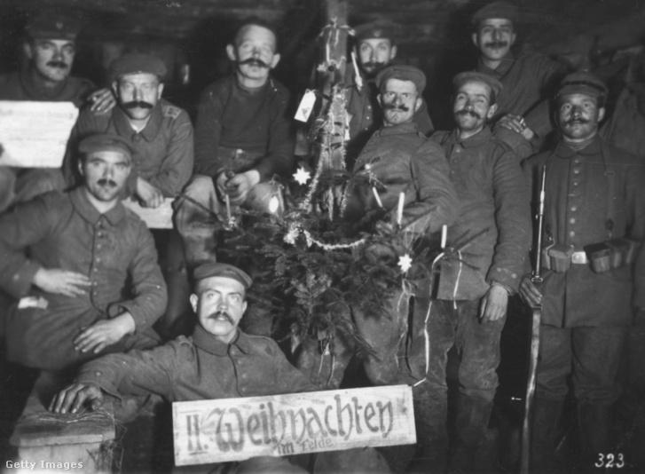 Az Osztrák–Magyar Monarchia katonái valamikor az első világháború idején.