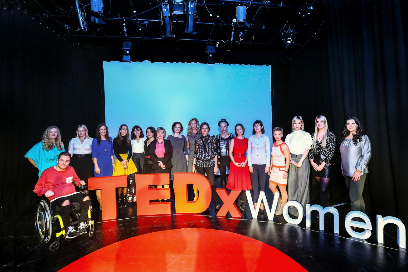 TEDxWomen eloadok szervezok