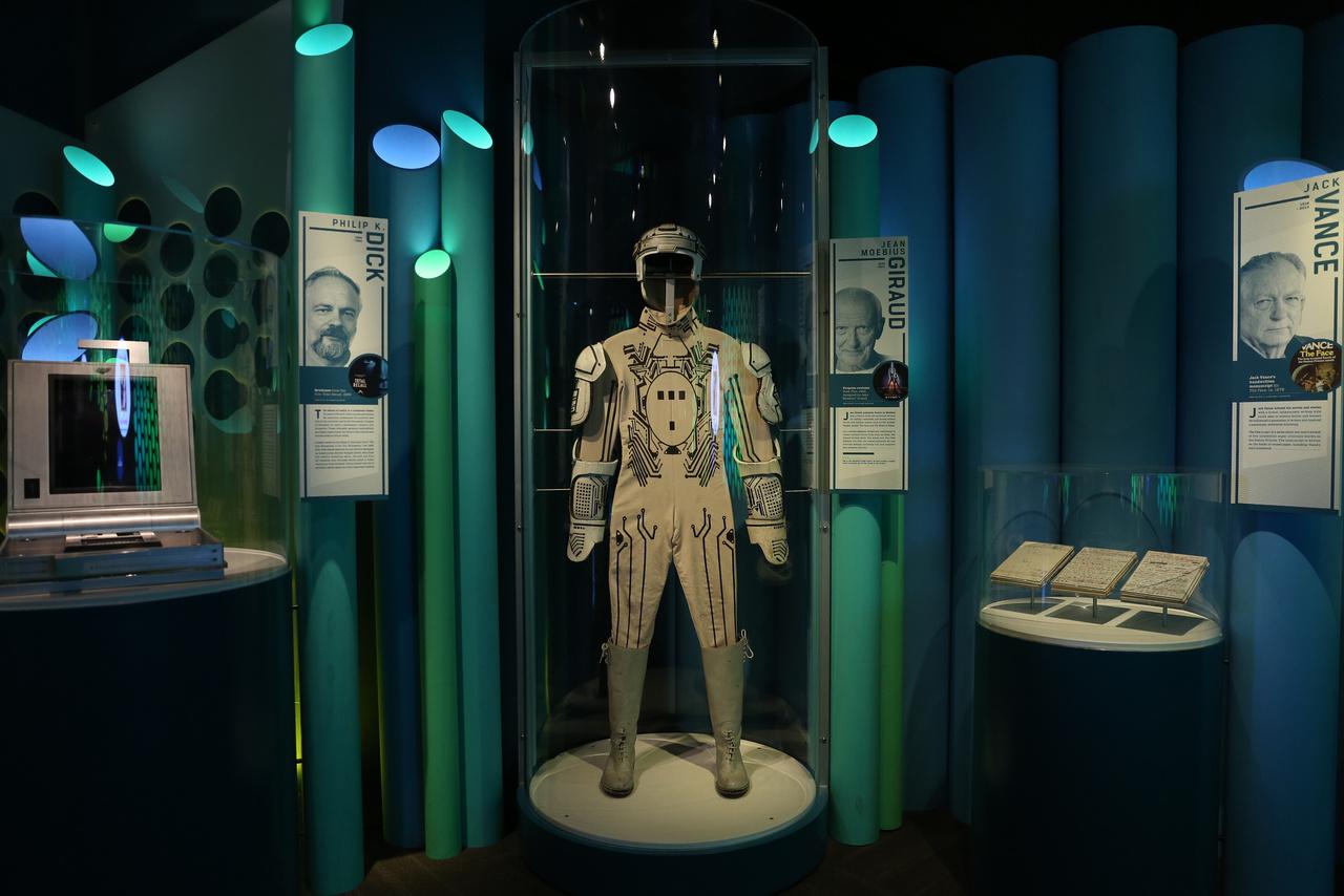 Kosztüm a Tron című 1982-es sci-fiből.